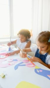 免費的父親節禮物-孩子的藝術畫